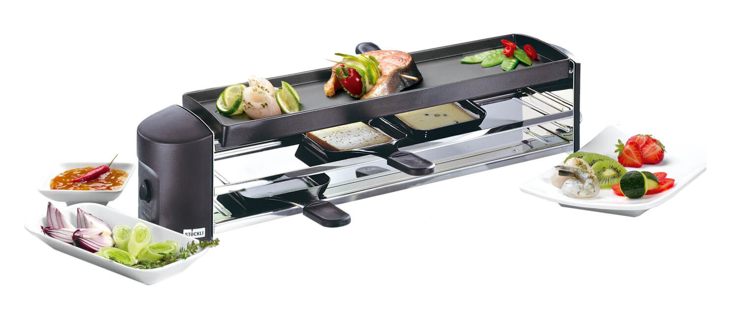 stöckli cheeseboard grill appareil raclette-gril anthracite acheter