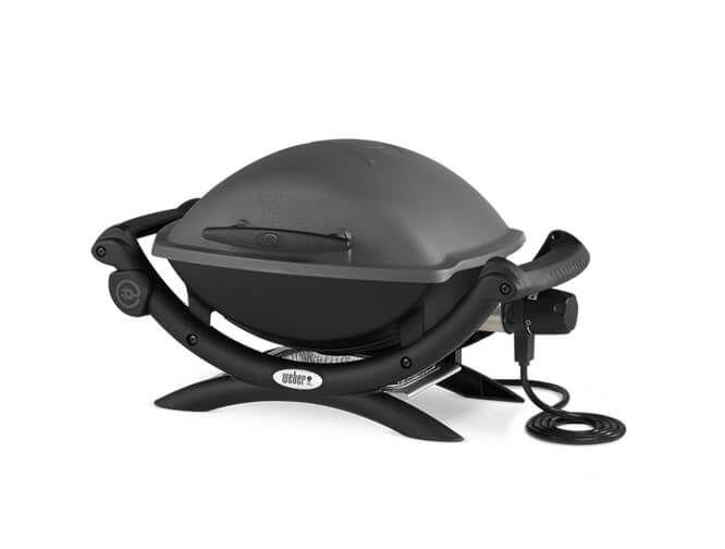 Weber Elektrogrill Q 1400 Stand Dark Grey : Weber q 1400 dark grey grill kaufen
