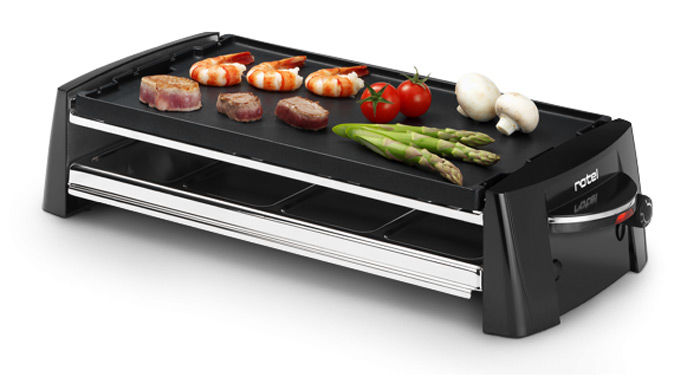 Buy Rotel Party Barbecue With Teppanyaki Platte Raclette Set