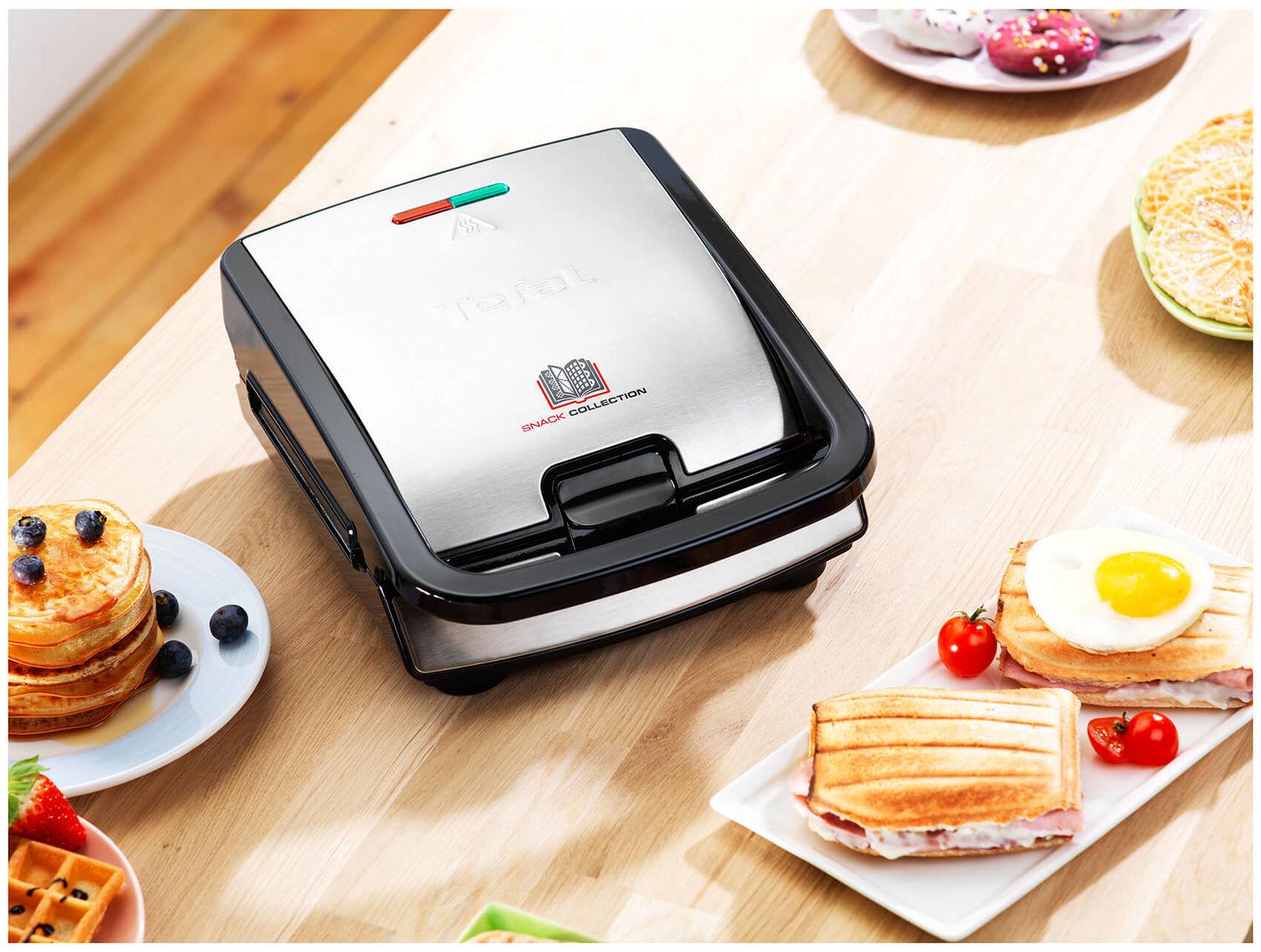 Tefal ALLA GRIGLIA PANINI PIASTRE GRILL SET COLLEZIONE Snack Sandwich /& Snack Maker