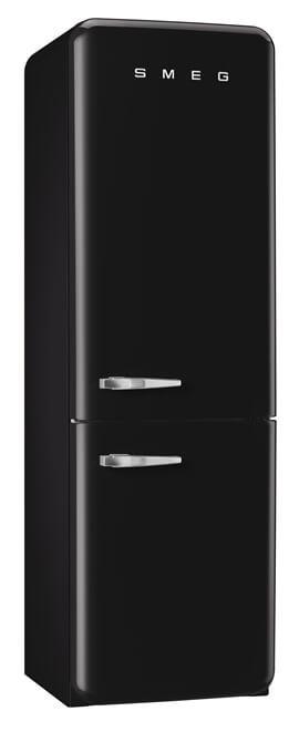 kühlschrank smeg schwarz