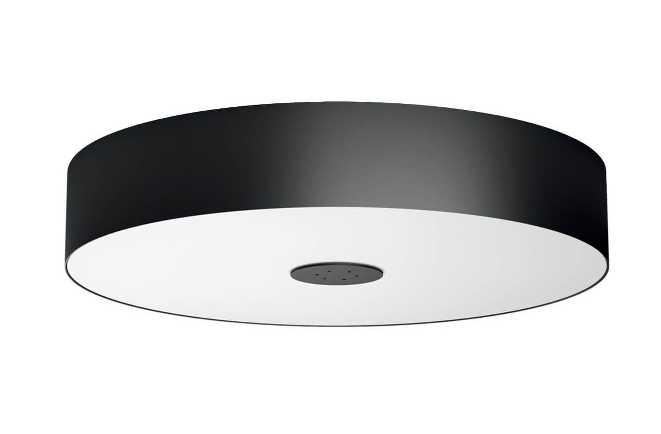 Plafoniera A Led Beign Philips Hue : Philips hue fair led incl dimmer switch nero plafoniera