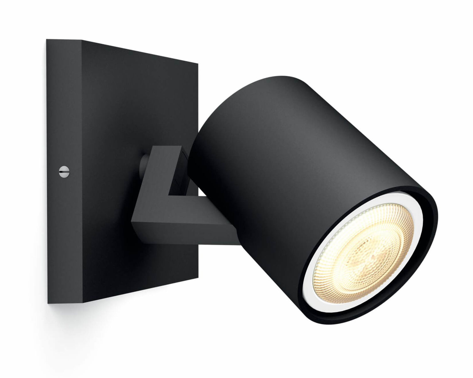 Plafoniera A Led Beign Philips Hue : Philips hue runner led spot incl. dimmer switch nero plafoniera