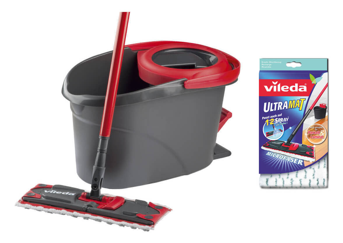 Vileda Ultramat Turbo Mop Ultramat Repl Cover Accessory