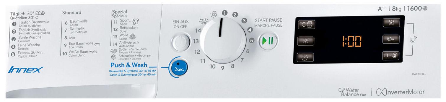 Indesit BWE 81683X WKKK CH Waschmaschine links