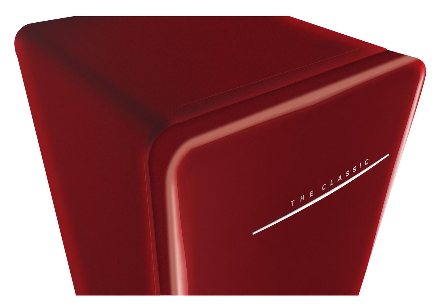Kühlschrank Rot : Daewoo classic fn 153rq kühlschrank rot rechts nettoshop.ch