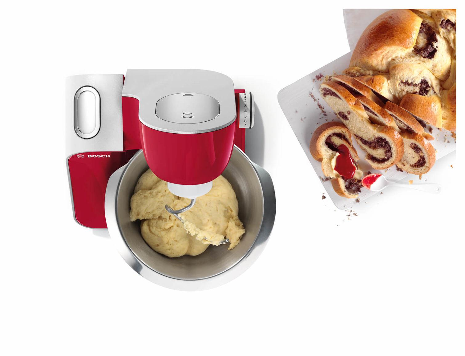 Bosch MUM58720 Robots De Cuisine Rouge OCCASION
