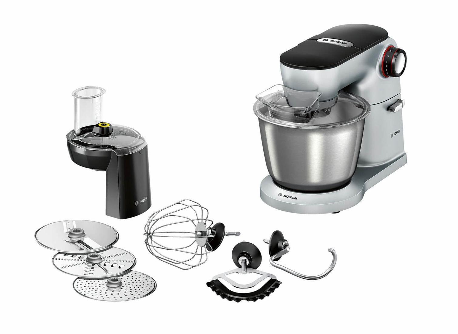 Bosch MUM9DT5S41 Küchenmaschinen Silber OptiMUM