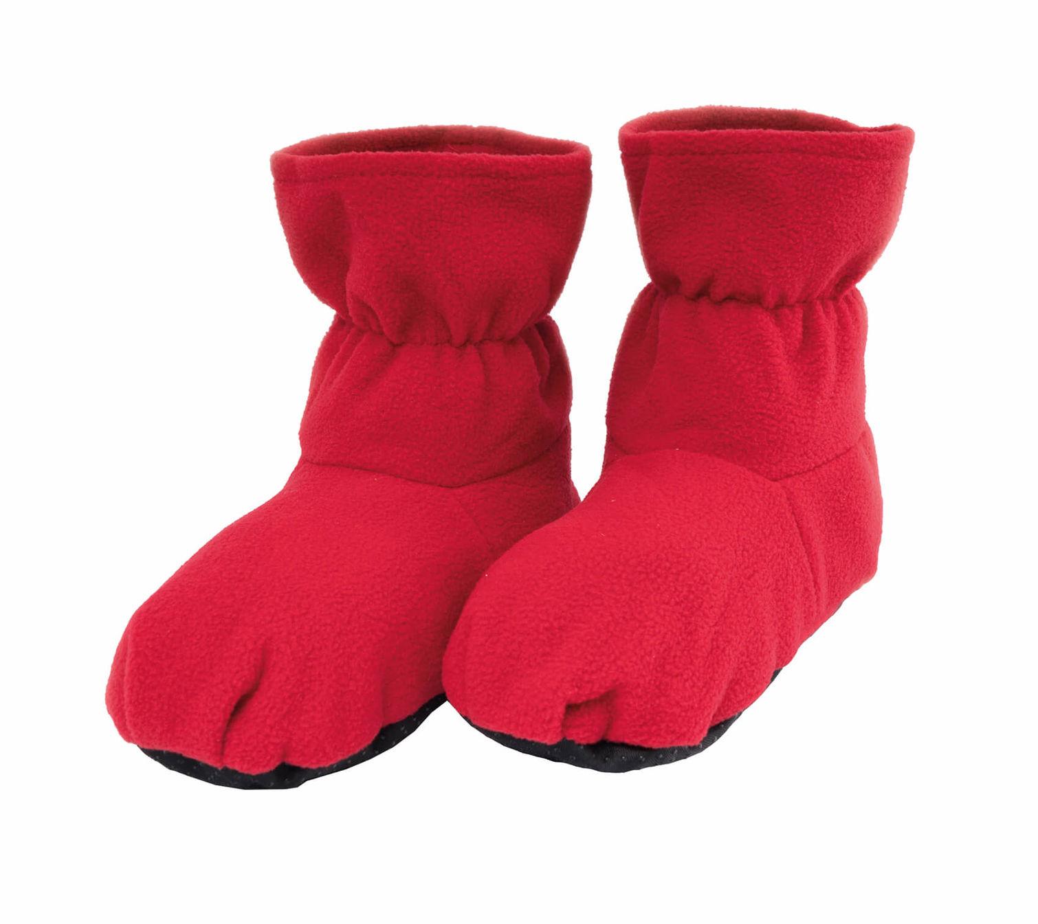 nuovo elenco negozio ufficiale Los Angeles Fusion pantofole di calore wellness rosse