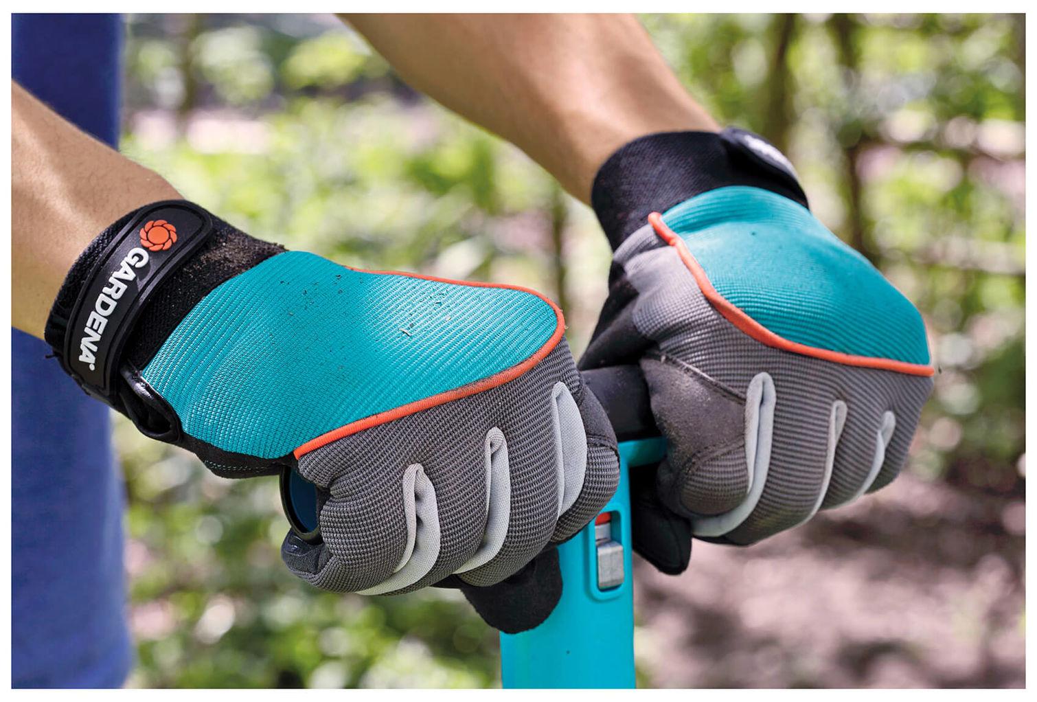 prezzi al dettaglio ultimo design belle scarpe Gardena Guanti da lavoro Misura 8 / M turchese