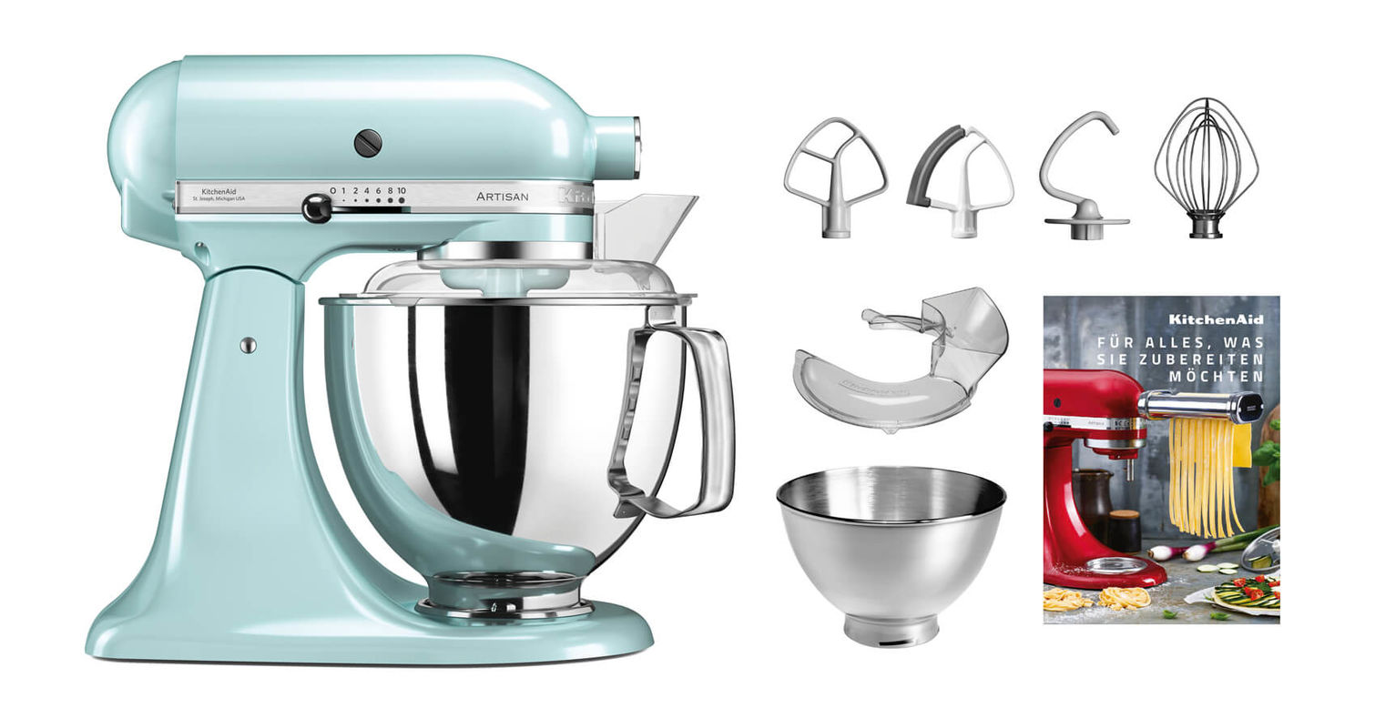 Buy Kitchenaid Artisan Ksm200 Kitchen Machine Swiss Edition Ice Blue