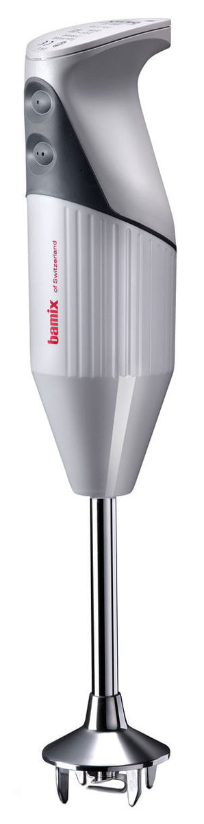 Image of Bamix 160 Mono Softgrip Mixer weiss