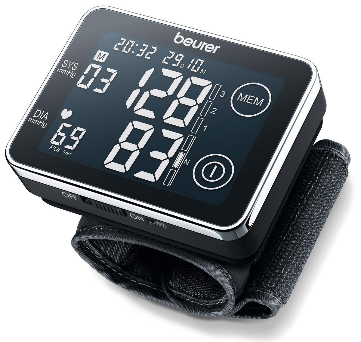 Image of Beurer Touchscreen BC58 Blutdruckmessgerät