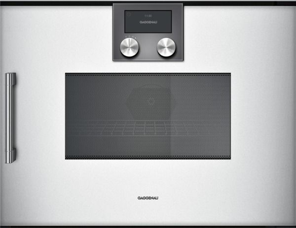 Image of Gaggenau BMP 250 130 Backofen Silber rechts