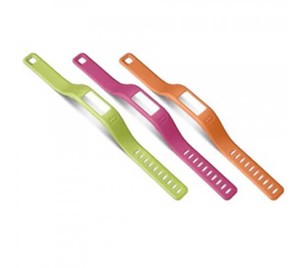 Image of Garmin Armbänder large grün, pink, orange Zubehör
