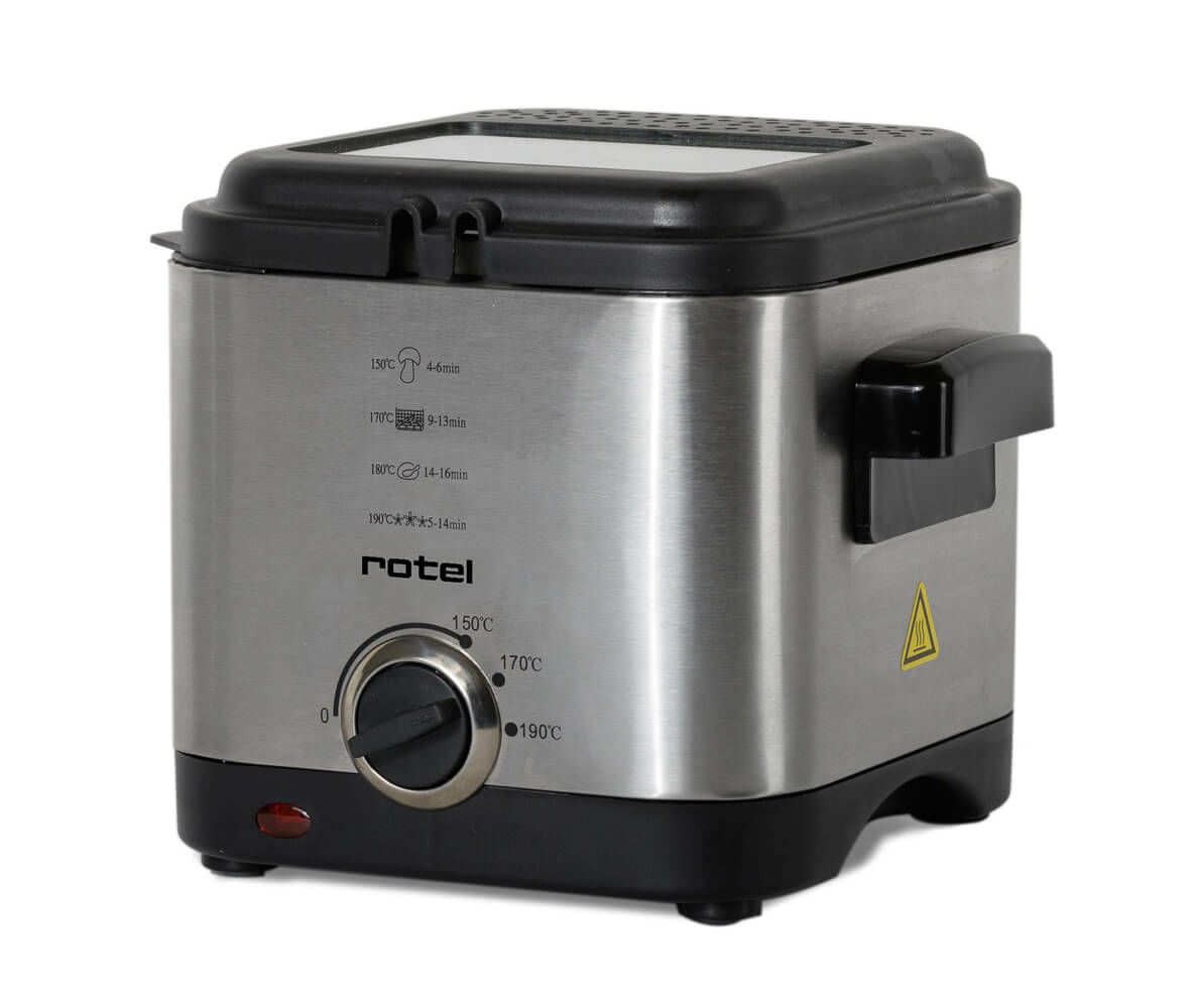 Rotel CompactFry 1.5 Liter U1702CH Friteuse