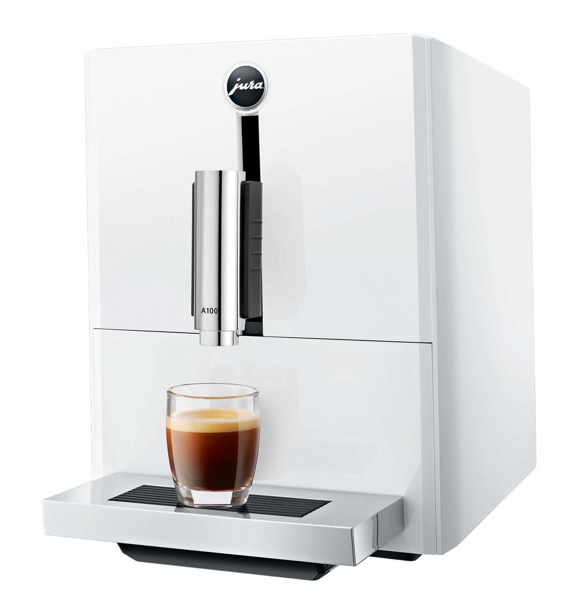 Image of JURA A100 Piano White Kaffeevollautomat