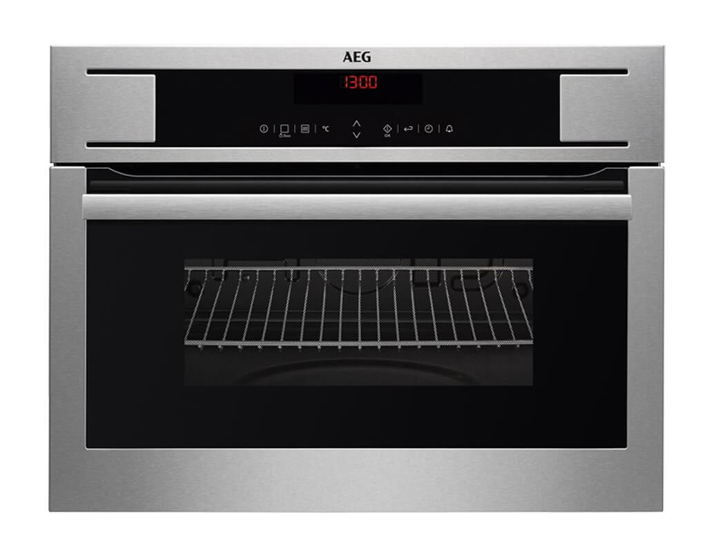 Image of AEG BO4MGM Compactline 45 Backofen-Mikrowelle Chrom