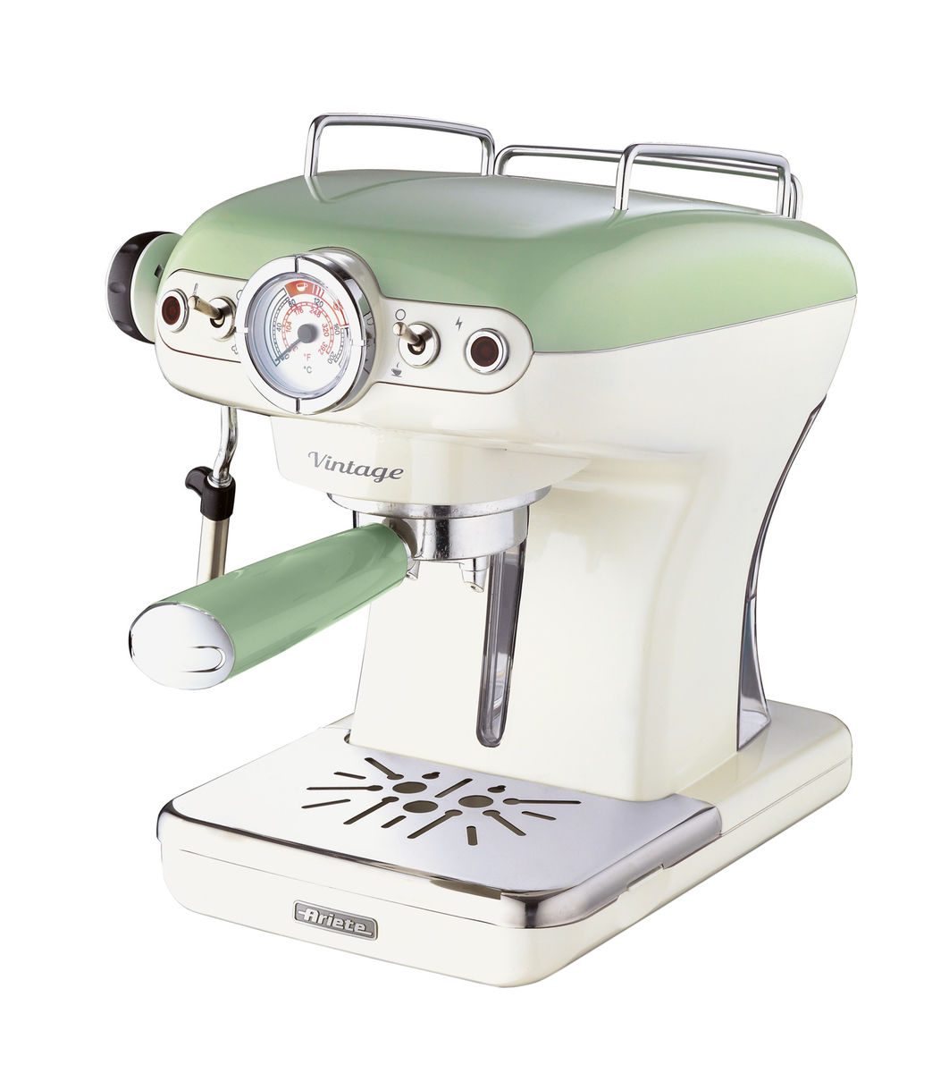 Image of Ariete 1389/1 Kolbenkaffeemaschine grün