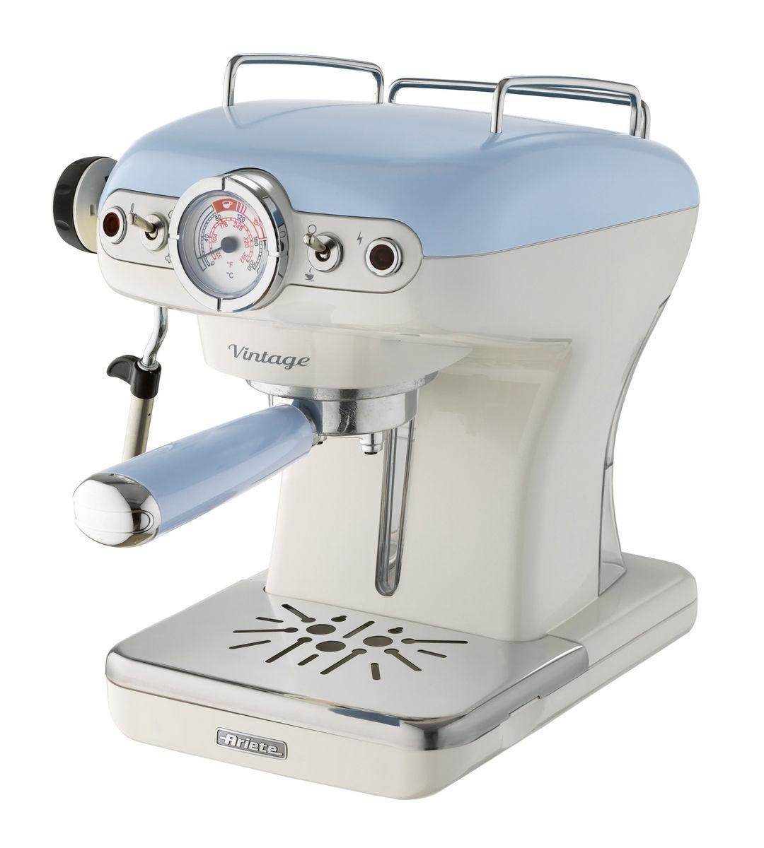 Image of Ariete 1389/1 Kolbenkaffeemaschine blau