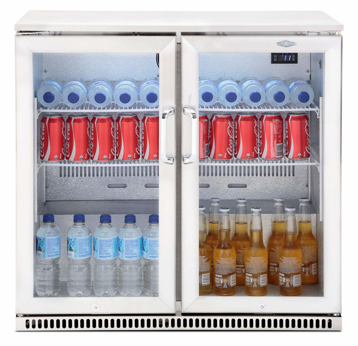 Image of Beefeater Einbau Kühlschrank mit Doppeltür Edelstahl