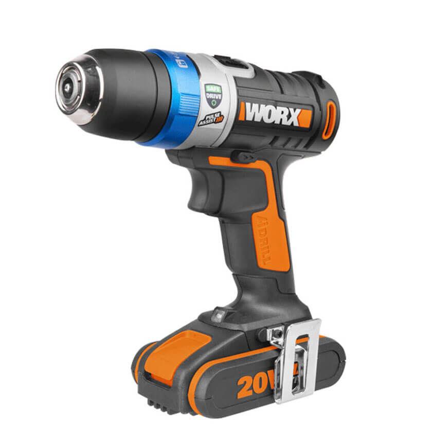 Worx WX178.1, 20 V 2.0 Ah Li-on BL Akku-Bohrschrauber