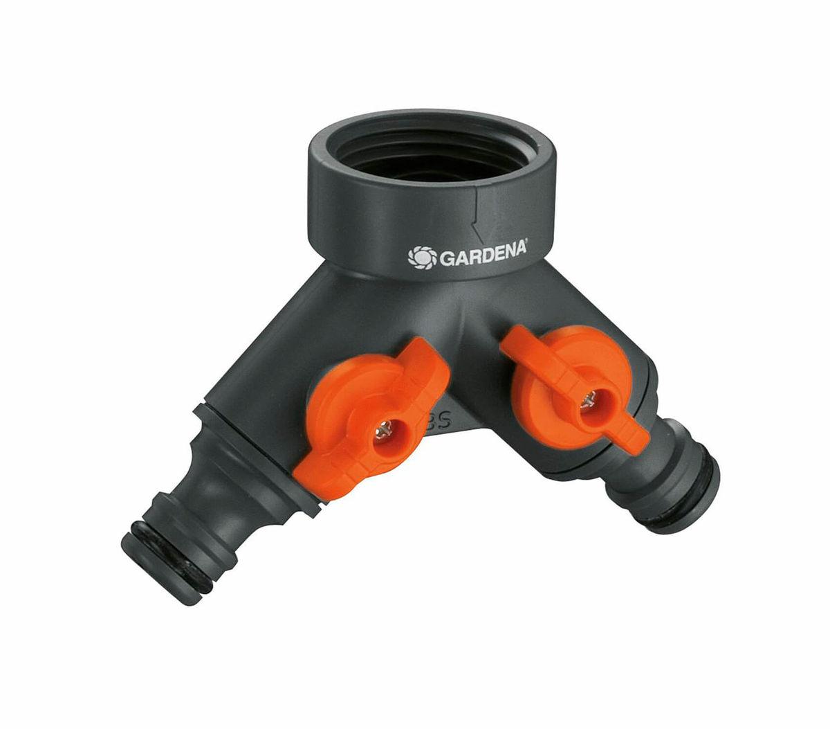 Image of Gardena 2-Wege-Ventil, für Wasserhähne mit 33,3 mm (G1)