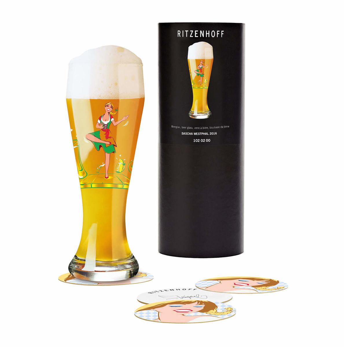 Ritzenhoff Sascha Westphal 2016 Weizenbierglas