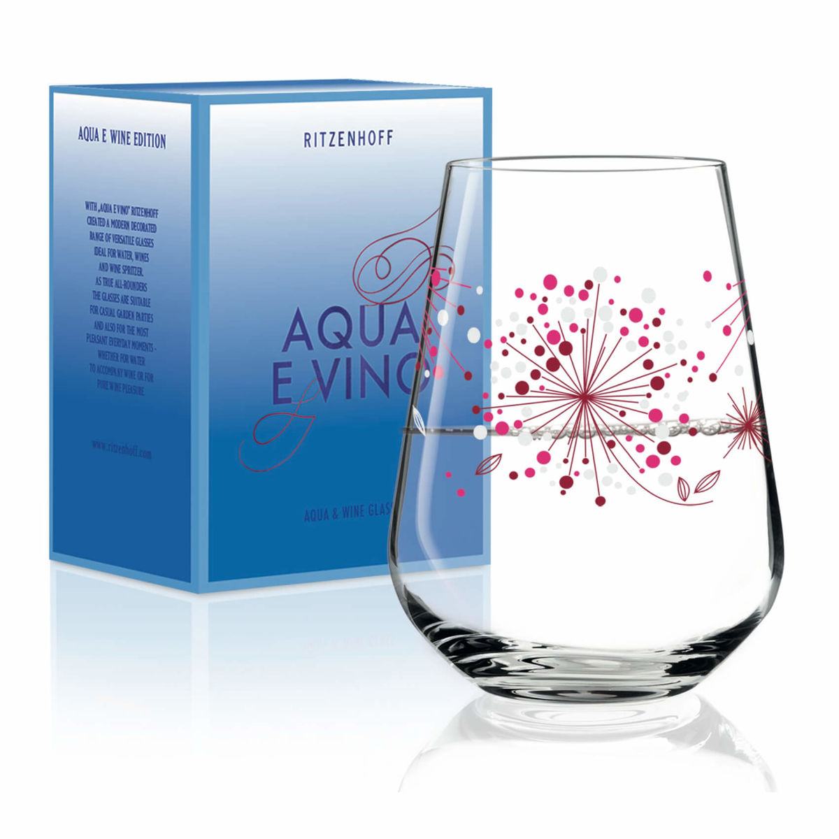 Ritzenhoff Véronique Jacquart 2018 Aqua e Vino Wasser- und Weinglas