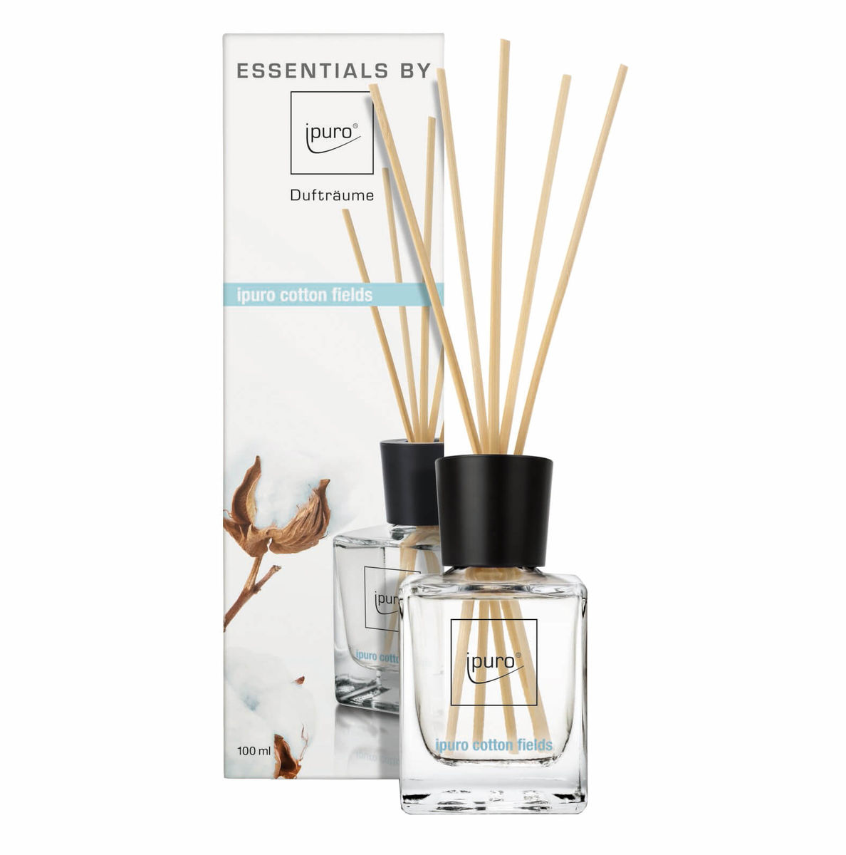 ESSENTIAL by ipuro cotton fields 100ml Lufterfrischer