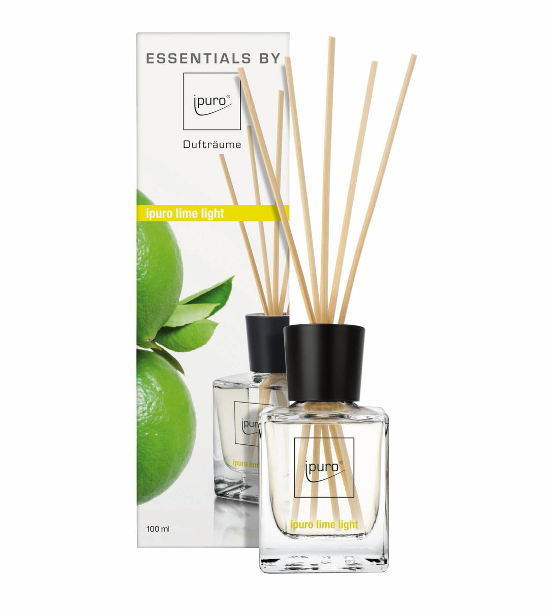 ESSENTIAL by ipuro lime light 100ml Lufterfrischer