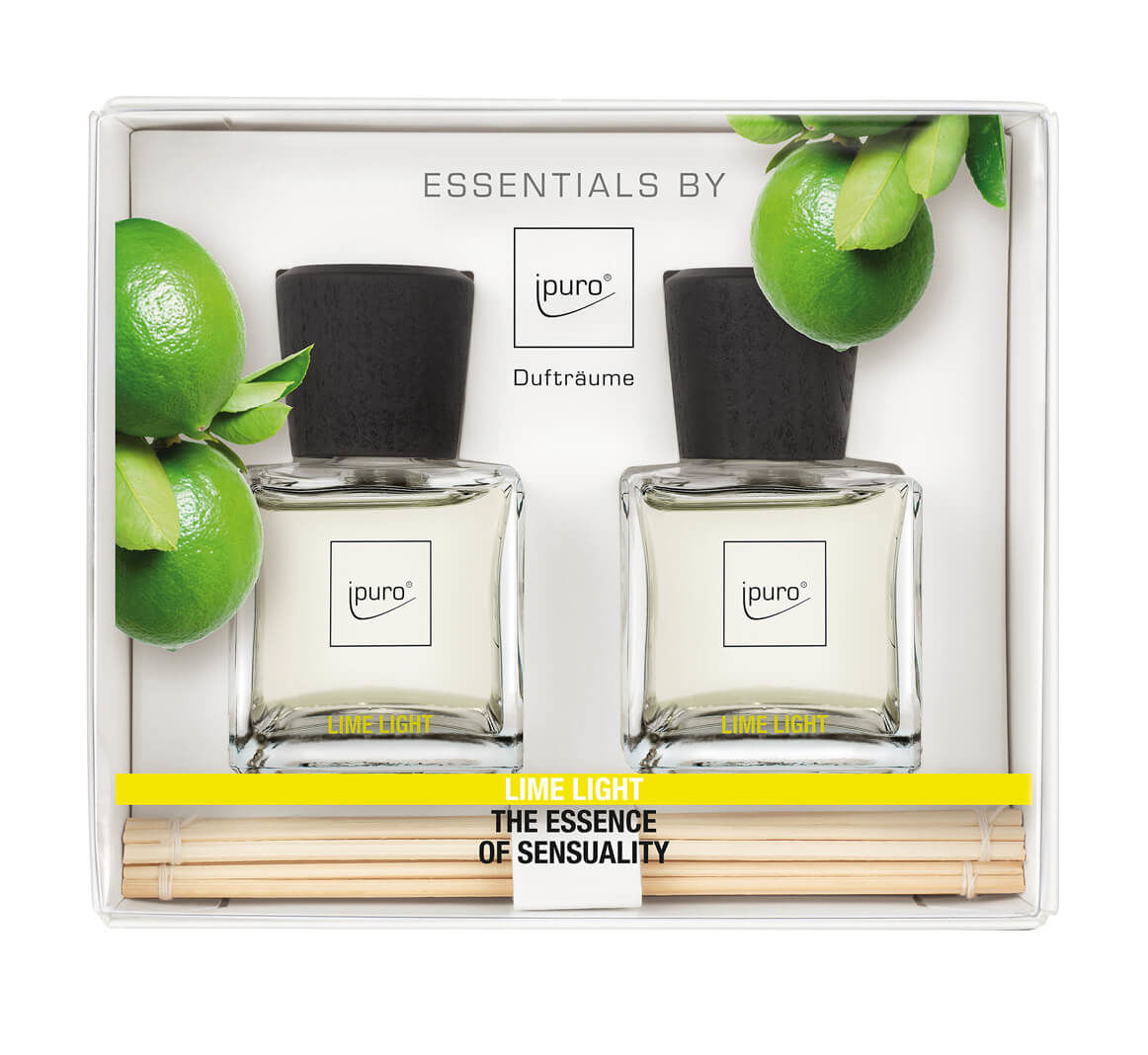 ESSENTIAL by ipuro lime light 2x 50mlml Lufterfrischer