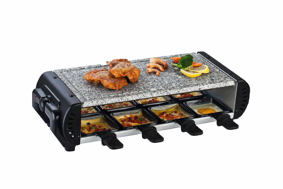 Ohmex RCL 8081 Raclettegrill 8er