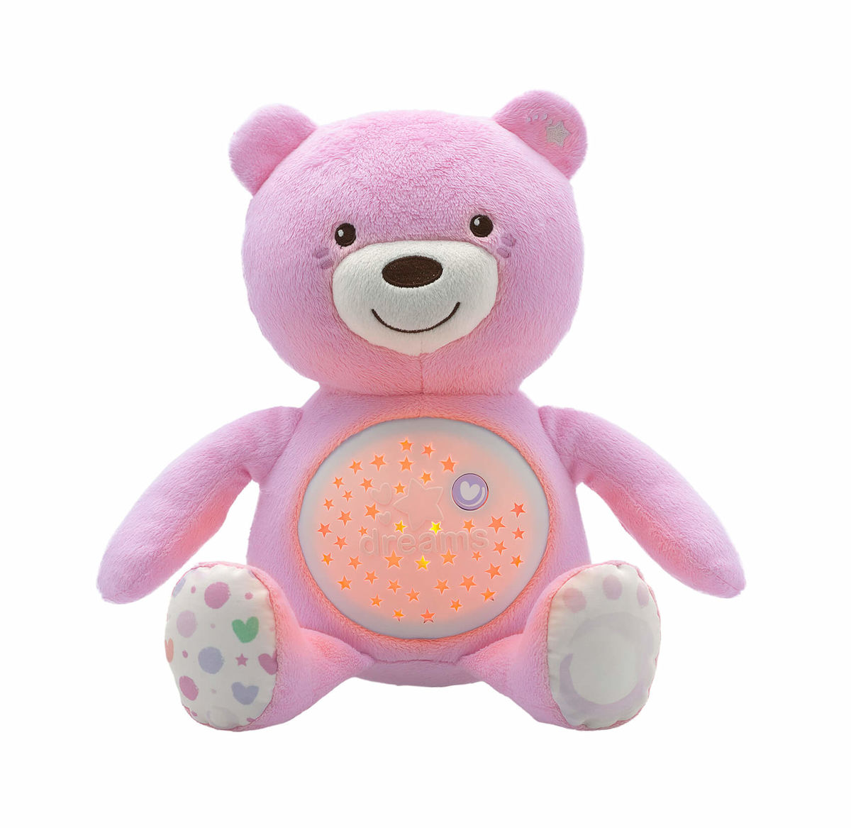 Image of Chicco First Dreams Baby Bear Nachtlicht pink