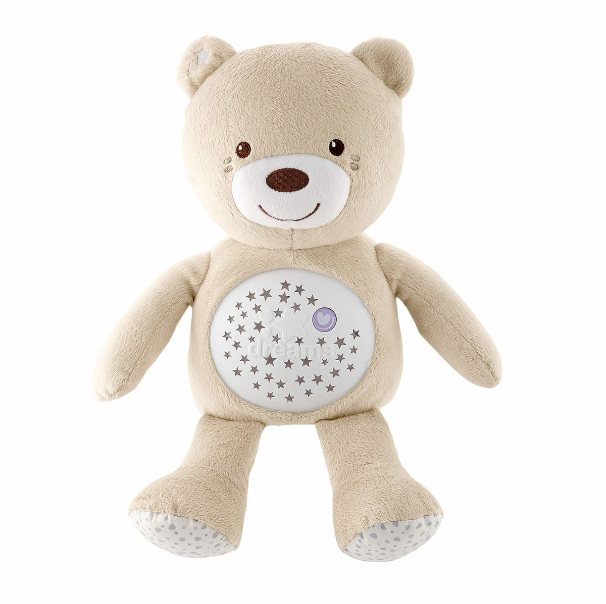 Image of Chicco First Dreams Baby Bear Nachtlicht creme