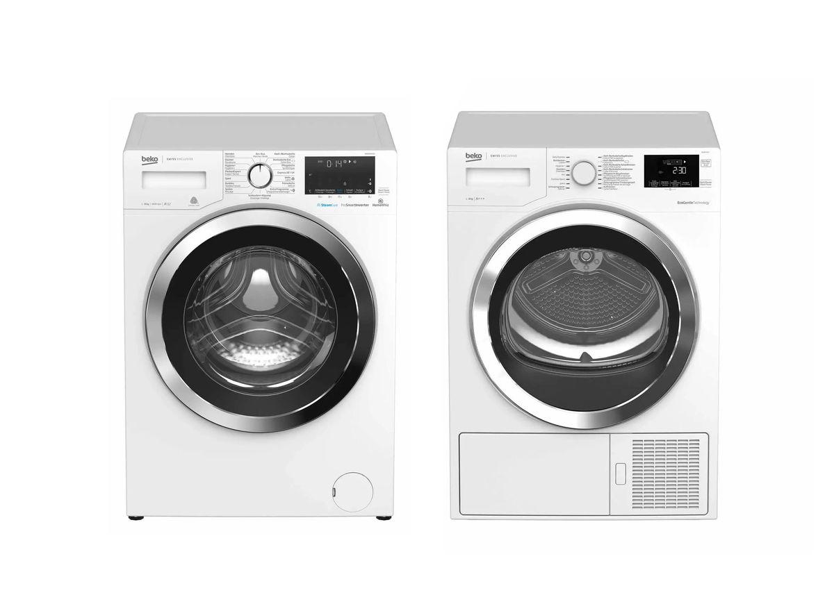 Image of Beko 60081664CH Waschmaschine 600873CH Wäschetrockner