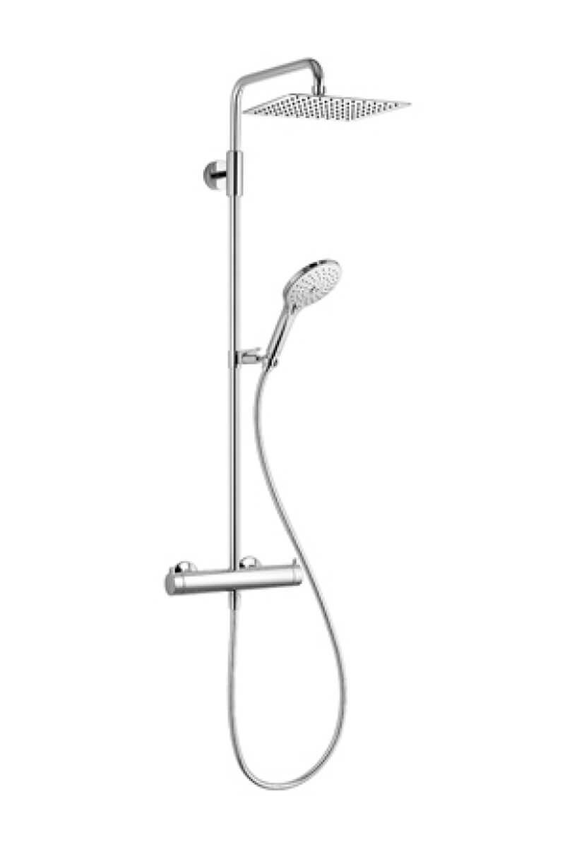Image of KWC Duschsystem mit Thermostatmischer