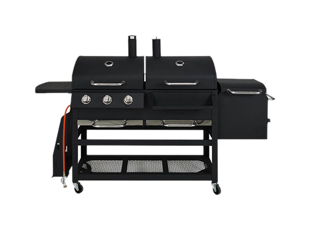 Image of BBQ Dragon All in One 3.0 inkl. Abdeckhülle Holzkohle Grill/GasGrill