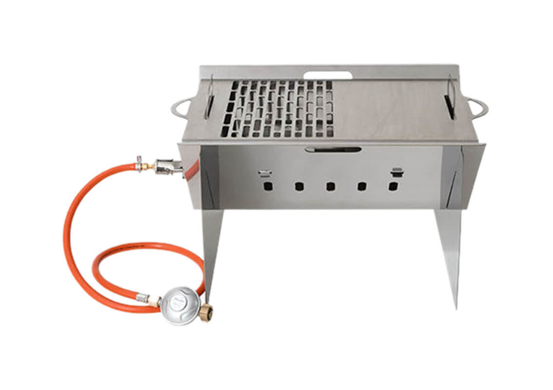 Image of BBQ Dragon 752.001.00 Campinggrill Holzkohle / Gas Grill
