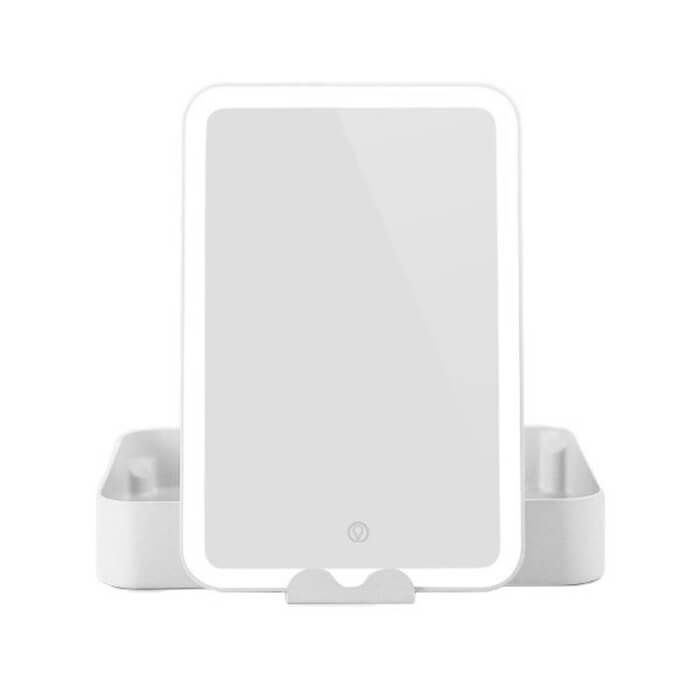 Image of Ailoria BELLE Beautycase mit LED-Spiegel weiss