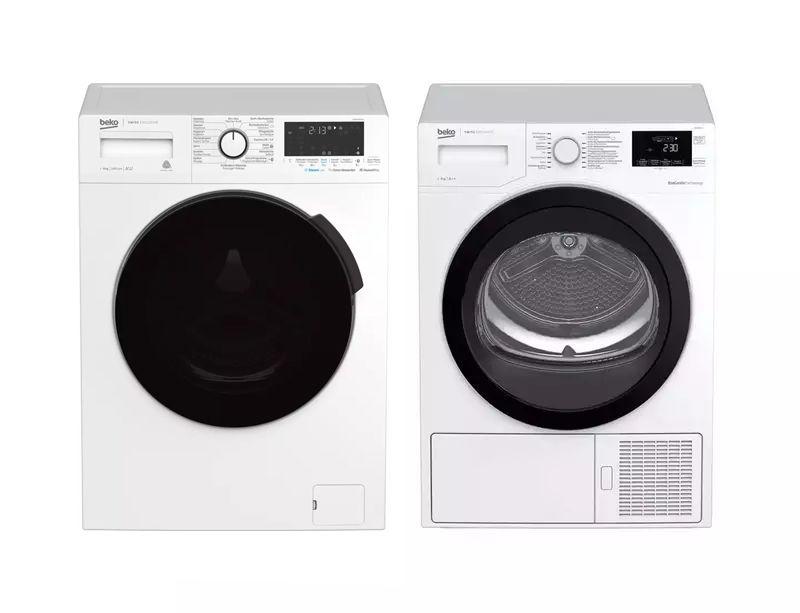 Image of Beko 50081464CH1 Waschmaschine links 600872CH Tumbler