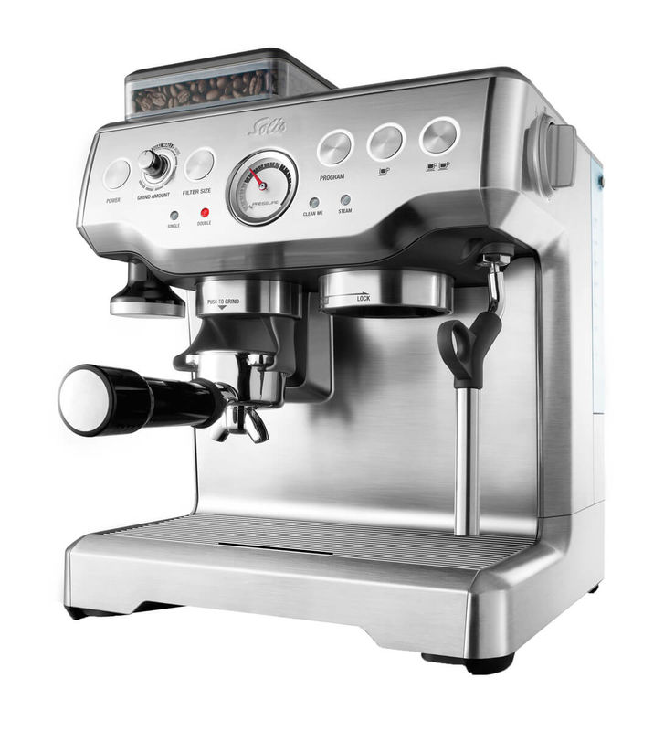 Solis Barista Pro Stainless Steel Typ 114 Manual Espresso Machine