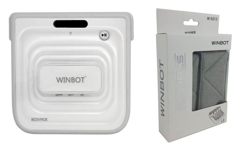 Robot Lavavetri Winbot.Ecovacs Winbot W730 Lavavetri Robot Incl 3 Puliziapad
