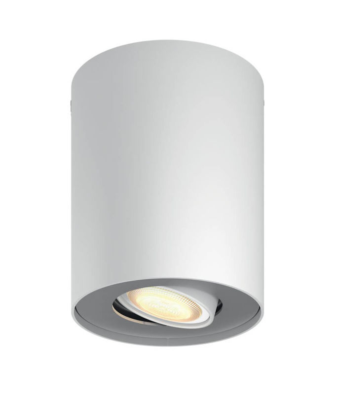 Philips Hue Pillar Led 1 Spot Incl Dimmer Switch Ws Ceiling Lamp