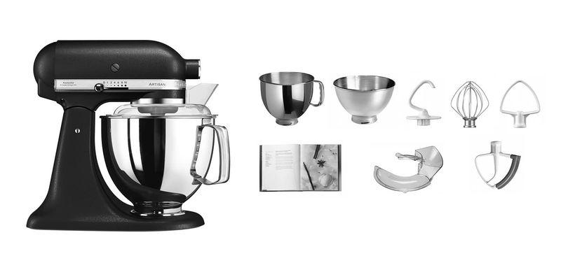 Kitchenaid Artisan Ksm175 Küchenmaschine Eisenschwarz Kaufen