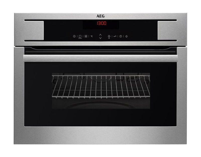 Aeg Bo4mgm Compactline 45 Backofen Mikrowelle Chrom Kaufen
