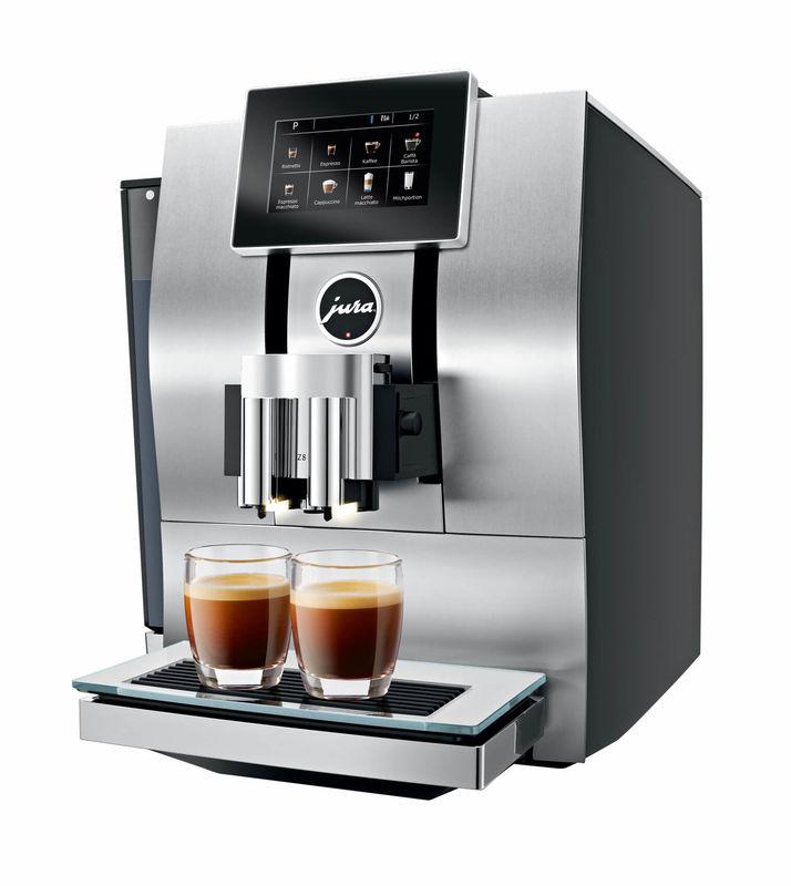 Jura Z8 Aluminium Kaffeemaschine Vollautomat Kaufen