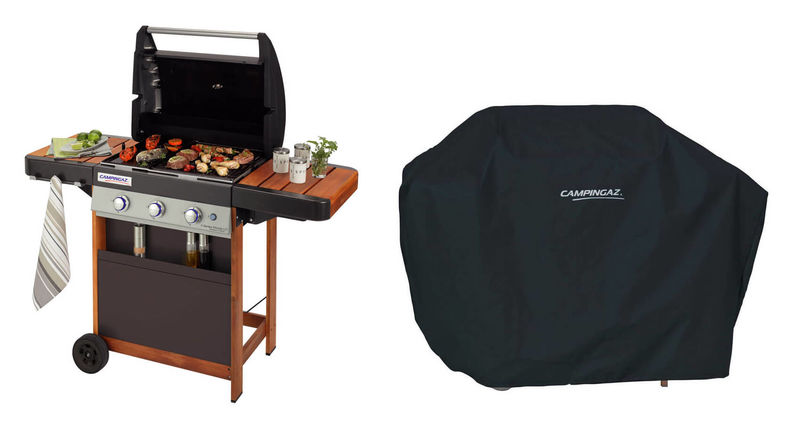 Campingaz 3 Series.Campingaz 3 Series Woody Ld Barbecue Incl Cover