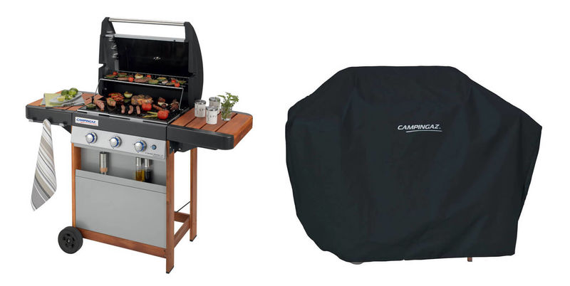 Campingaz 3 Series.Buy Campingaz 3 Series Woody Lx Barbecue Incl Cover