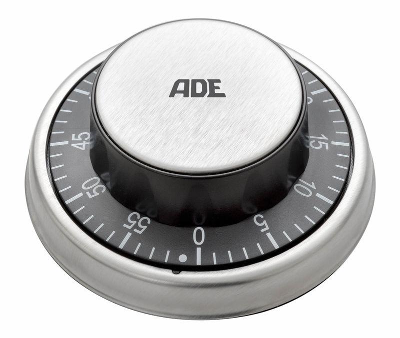 ADE TD 1304 Timer da cucina meccanicamente nero | nettoshop.ch